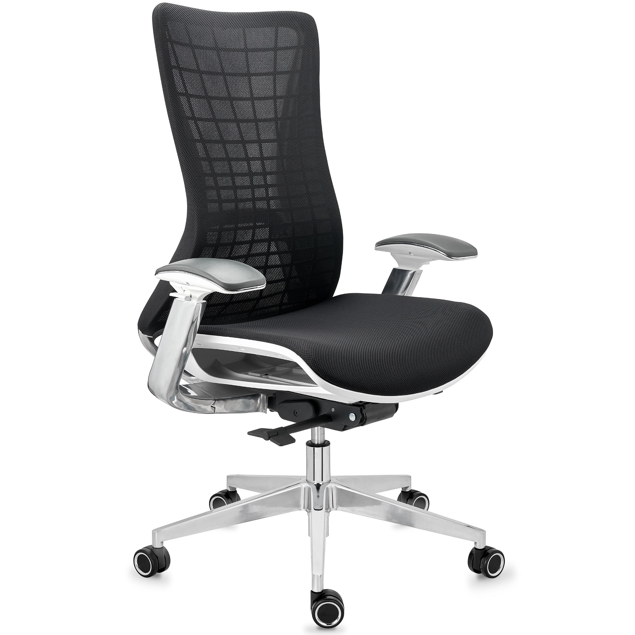 Chaise Ergonomique ENERGY, Design Unique, Excellente Qualité, en Maille, Noir