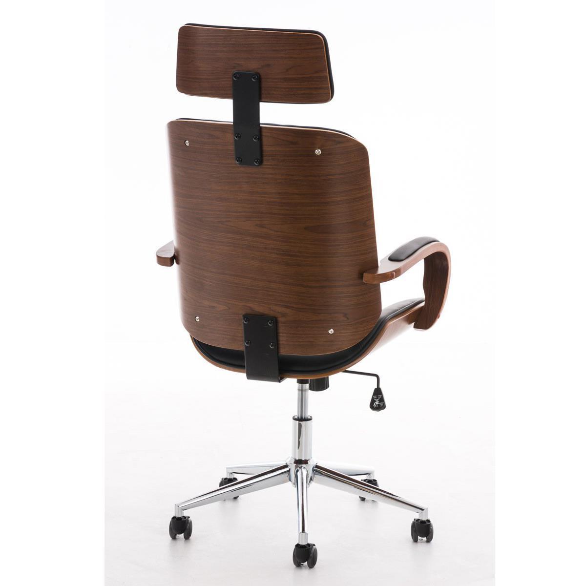 Chaise De Bureau Judith Noir Chaiseprofr