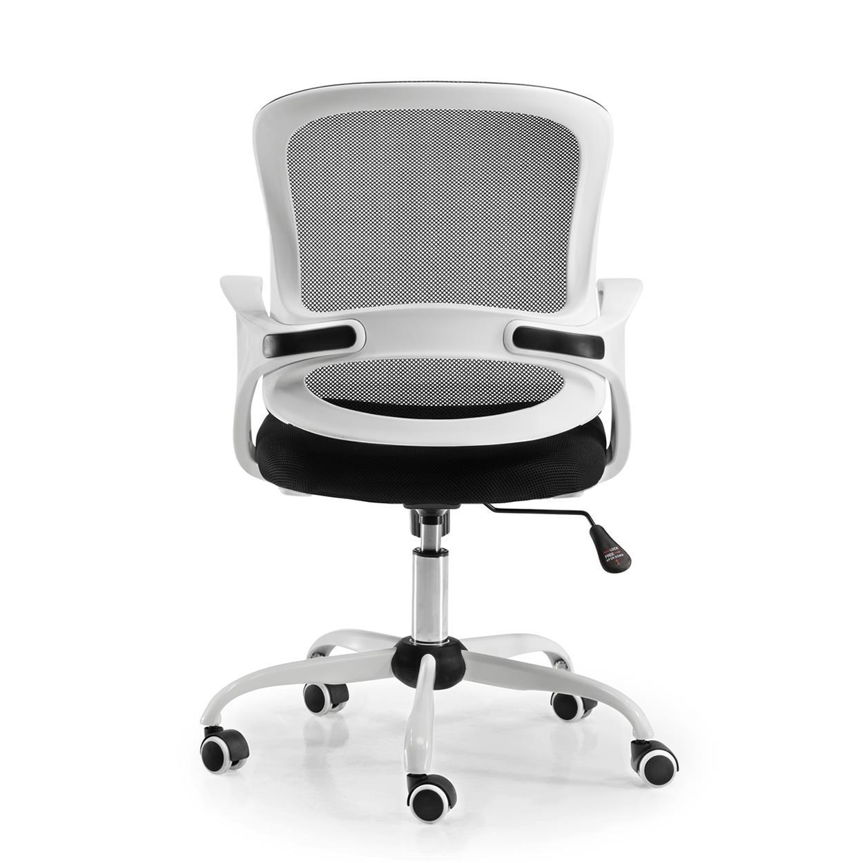 BlancDesign Bureau JacobStructure Chaise En De ModerneTissuNoir xodCBre